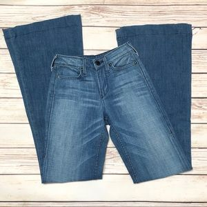 Never Worn TRUE RELIGION High Waisted Flare Jeans